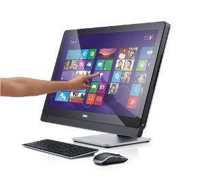 The new Dell XPS™ 27 All-in-One with Quad HD touch display