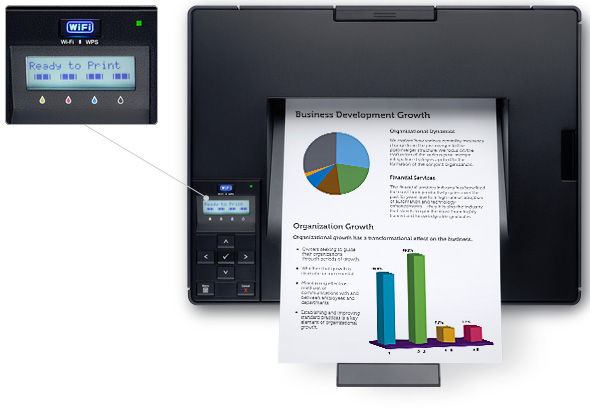 how to connect dell printer to wifi
