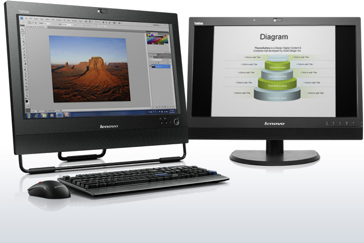Lenovo ThinkCentre M72z 3548C8U All-in-One Computer - Intel Core i3 i3-3220  3 3GHz - Desktop - Business Black - Newegg com