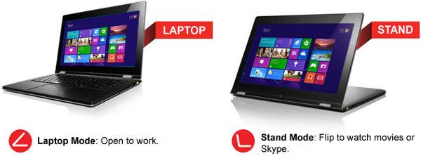 Lenovo IdeaPad Yoga 13 (59359564) Ultrabook Intel Core i7-3537U 2 0GHz  13 3