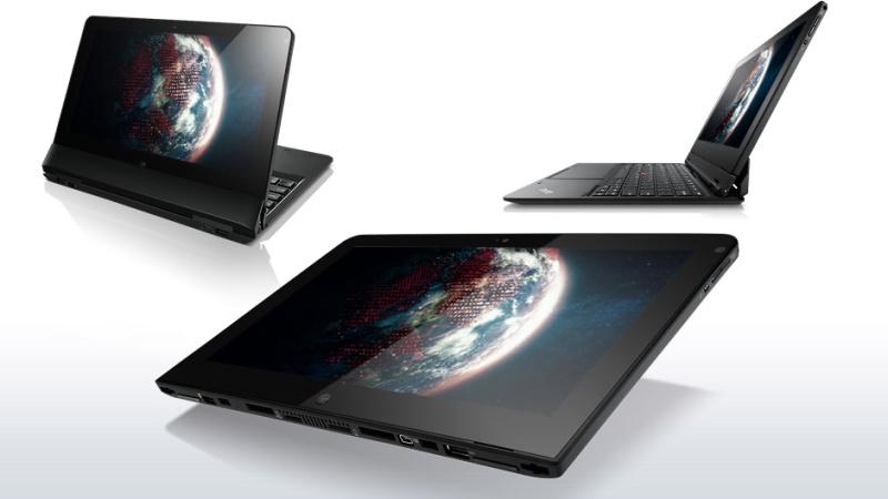 Lenovo ThinkPad Helix: Multiple Views