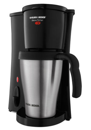 Black & Decker® Brew'n Go Personal Coffee Maker