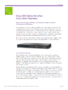 SF300-08 Switches Product Brochure