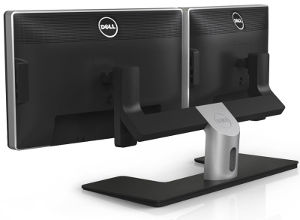 dell mds14 dual monitor stand newegg com