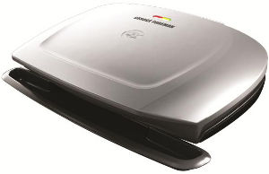 George Foreman® GR2144P 9 Serving Classic Plate Grill (Platinum)